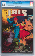 Golden Age (1938-1955):Science Fiction, Ibis The Invincible #3 (Fawcett, 1945) CGC VF+ 8.5 Off-whitepages....