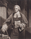 Prints, JOHN HOPPNER (British, 1758-1810). Sir Soulden Lawrence, Judgeof His Majesty's Court of King's Bench, 1803. Engraving. ...