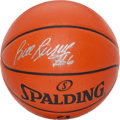 Basketball Collectibles:Balls, Bill Russell Signed Basketball. ...