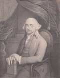 Prints, HIS EXCELLENCY JOHN ADAMS PRESIDENT OF THE UNITED STATES OFAMERICA. H. H. Houston, 19th century. 14-1/2 x 10-1/...
