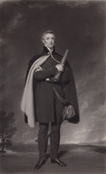 Prints, SIR THOMAS LAWRENCE (British, 1769-1830). Field Marshal, TheDuke of Wellington, 19th century. Engraving. 29-3/4 x 17-3/...