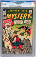 Silver Age (1956-1969):Superhero, Journey Into Mystery #95 (Marvel, 1963) CGC VF 8.0 Off-white pages....