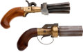 Handguns:Muzzle loading, Lot of Two Boxed Classic Arms Muzzleloading Pistols.... (Total: 2Items)