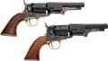 Handguns:Muzzle loading, Consecutive Pair of Uberti Percussion Revolvers.... (Total: 2 Items)
