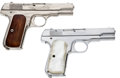 Handguns:Semiautomatic Pistol, Lot of Two Colt Model 1903 Hammerless .32 Semi-AutomaticPistols.... (Total: 2 Items)