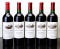 Red Bordeaux, Chateau Ausone. St. Emilion. 1995 1lbsl Bottle (1). 2000Bottle (4). ... (Total: 5 Btls. )