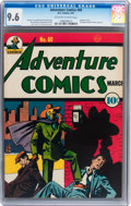 Golden Age (1938-1955):Superhero, Adventure Comics #60 (DC, 1941) CGC NM+ 9.6 Off-white to white pages....