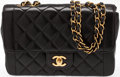 Luxury Accessories:Bags, Heritage Vintage: Chanel Black Quilted Lambskin Flap Bag with GoldHardware. ...