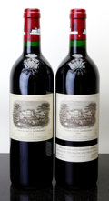 Red Bordeaux, Chateau Lafite Rothschild 2000 . Pauillac. Bottle (2). ...(Total: 2 Btls. )