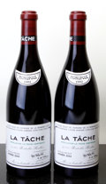 Red Burgundy, La Tache 2002 . Domaine de la Romanee Conti . Bottle (2).... (Total: 2 Btls. )