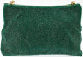 Luxury Accessories:Bags, Heritage Vintage: Gucci Green Beaded Clutch. ...