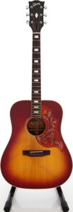 Musical Instruments:Acoustic Guitars, Circa 1974 Gibson Hummingbird Cherry Sunburst Acoustic Guitar,#683014....