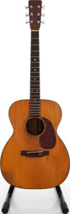 Musical Instruments:Acoustic Guitars, 1953 Martin 000-18 Natural Acoustic Guitar, #129354....