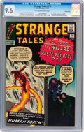 Silver Age (1956-1969):Superhero, Strange Tales #110 Pacific Coast pedigree (Marvel, 1963) CGC NM+ 9.6 Off-white to white pages....
