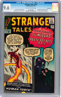 Strange Tales #110 Pacific Coast pedigree (Marvel, 1963) CGC NM+ 9.6 Off-white to white pages