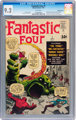 Fantastic Four #1 White Mountain pedigree (Marvel, 1961) CGC NM- 9.2 White pages