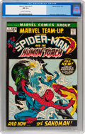 Bronze Age (1970-1979):Superhero, Marvel Team-Up #1 Spider-Man and Human Torch (Marvel, 1972) CGC NM 9.4 Off-white to white pages....