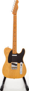 Musical Instruments:Electric Guitars, 1990's Fender Telecaster '52 Reissue USA Butterscotch Solid BodyElectric Guitar, #24249....