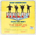 "Movie Posters:Rock and Roll, Help! (United Artists, 1965). Six Sheet (79.5"" X 81"").. ..."