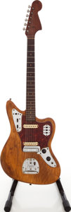 Musical Instruments:Electric Guitars, 1964 Fender Jaguar Refinished Solid Body Electric Guitar,#L37539....