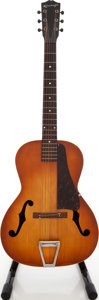 Musical Instruments:Acoustic Guitars, 1930 's Kalamazoo KG Ice Tea Burst Archtop Acoustic Guitar,#1475F....