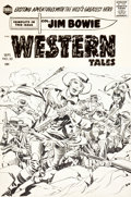 Original Comic Art:Covers, Jack Kirby and Joe Simon Western Tales #33 Jim Bowie CoverOriginal Art (Harvey, 1956)....