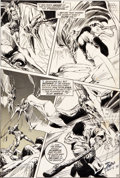 Original Comic Art:Panel Pages, Neal Adams and Tom Palmer X-Men #60 Sauron Origin Page 13Original Art (Marvel, 1969)....