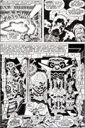 Original Comic Art:Panel Pages, Jack Kirby and Mike Royer Black Panther #3 Page 27 OriginalArt (Marvel, 1977).... (Total: 2 Items)