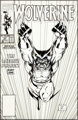 Jim Lee Wolverine #27 Cover Original Art (Marvel, 1990)