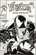 Original Comic Art:Covers, Mark Bagley and Sam de la Rosa Venom #1 Cover Original Art(Marvel, 1992)....