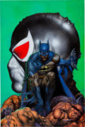 Original Comic Art:Covers, Glenn Fabry Batman: Vengeance of Bane II Painted CoverOriginal Art (DC, 1995)....