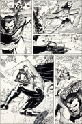 Original Comic Art:Panel Pages, Carl Potts and Jim Lee Punisher War Journal #7 Wolverine Page 15 Original Art (Marvel, 1989)....