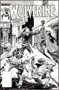 Original Comic Art:Covers, John Buscema and Al Williamson Wolverine #4 Cover OriginalArt (Marvel, 1989)....