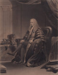 Prints, JAMES LONSDALE (British, 1777-1839). Brougham, 1832. 22 x15-1/2 inches (55.9 x 39.4 cm). Engraved by William Walker. ...