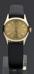 Timepieces:Wristwatch, Rolex Ref. 3802 Lady's Gold Cellini, circa 1980. ...
