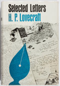 Books:Horror & Supernatural, H. P. Lovecraft. Selected Letters. Vol. I. 1911-1924. ArkhamHouse, 1965. First edition, first printing. Jacket ...
