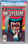 Modern Age (1980-Present):Superhero, Wolverine Limited Series #1 (Marvel, 1982) CGC NM/MT 9.8 Whitepages....