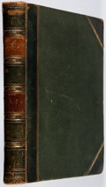 Books:Periodicals, Bound Volume of Punch, Vol. XXVII. July to Dec., 1854. Firstedition, first printing. Half leather with rubbing....