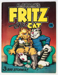 Silver Age (1956-1969):Alternative/Underground, R. Crumb's Fritz the Cat #nn (Ballentine Books, 1969) Condition:VG/FN....