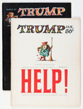 Silver Age (1956-1969):Humor, Trump #1 and 2 Group (HMH Publishing, 1957) Condition: Average FN.... (Total: 2 Comic Books)