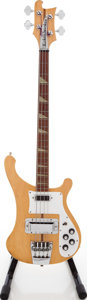 Musical Instruments:Bass Guitars, 1978 Rickenbacker 4001 Mapleglo Solid Body Electric Bass Guitar, Serial # ND2520. ...