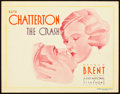 "Movie Posters:Drama, The Crash (Warner Brothers - First National, 1932). Title LobbyCard (11"" X 14"").. ..."