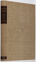 Books:Biography & Memoir, Harold G. Merriam. Edward Moxon: Publisher of Poets.Columbia University, 1939. First edition, first printing. Lacki...