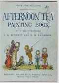Books:Children's Books, H. H. Emmerson, et al. Afternoon Tea Painting Book. Warne, [n. d.]. First edition, first printing. Custom cloth....