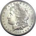 Morgan Dollars, 1884-S $1 MS63 PCGS. CAC....