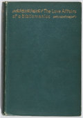 Books:Biography & Memoir, Eugene Field. The Love Affairs of a Bibliomaniac. Scribners,1896. First edition, first printing. Spine leaning. Ver...
