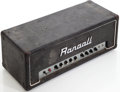 Musical Instruments:Amplifiers, PA, & Effects, 1983 Randall RG80ES Black Guitar Amplifier....