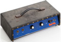 Musical Instruments:Amplifiers, PA, & Effects, 1970 's Univox Head Black Guitar Amplifier....
