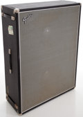 Musical Instruments:Amplifiers, PA, & Effects, 1968 Fender Bassman Silverface Guitar Speaker Cabinet, #P24836....