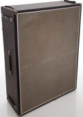 Musical Instruments:Amplifiers, PA, & Effects, 1968 Fender Bassman Silverface Guitar Speaker Cabinet, #2554....